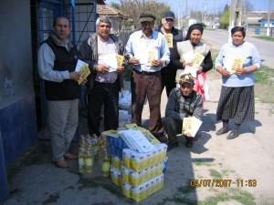 Feeding the poor in Romania