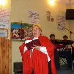 Silvia has been interpreting for Carl in Romania for many years.